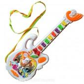 Đồ chơi đàn guitar mèo phím hình nơ
