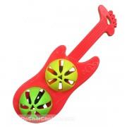 Đồ chơi lục lạc lắc 2 banh đàn Guitar điện