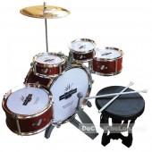 Hộp đồ chơi bộ trống Drum Set 5 cái kèm ghế