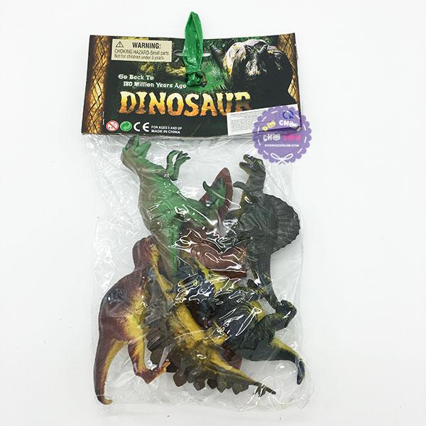 Bộ đồ chơi 6 chú khủng long bằng nhựa Dinosaur