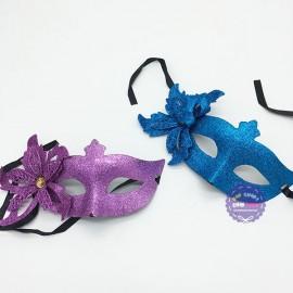 Đồ chơi mặt nạ Halloween đính hoa 5 cánh kim tuyến