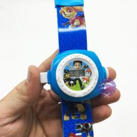 Vỉ đồ chơi đồng hồ chó cứu hộ Paw chiếu hình ảnh lên tường
