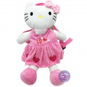 Ba lô hình mèo Hello Kitty cho bé