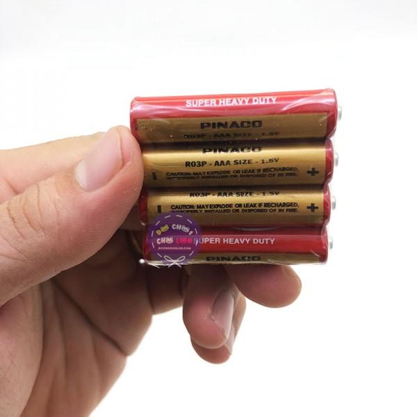 Compo 12 viên pin con ó AAA 1.5V Pinaco