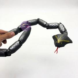 Đồ chơi mô hình rắn hổ mang 12 khúc bằng nhựa