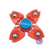 Hộp đồ chơi con quay Fidget Spinner 4 cánh bằng nhựa