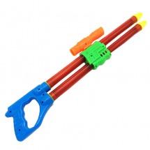 Đồ chơi ống thụt nước 2 nòng ống nhòm trong suốt lớn S129B