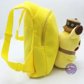 Ba lô hình Pikachu đội nón cho bé