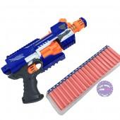 Hộp đồ chơi súng bắn đạn xốp tự động dùng pin Space Blaster