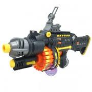 Hộp đồ chơi súng bắn đạn mút xốp 40 cây tự động dùng pin