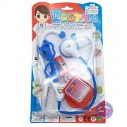 Vỉ đồ chơi bác sĩ 6 món dụng cụ y tế bằng nhựa