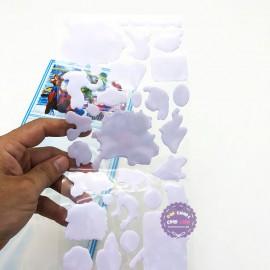Hình dán sticker nổi 3D hình người nhện Spider Man
