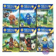 Bộ 6 hộp đồ chơi lắp ráp Nexo Knights bằng nhựa SL8927A