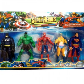 Bộ đồ chơi 5 siêu anh hùng avengers