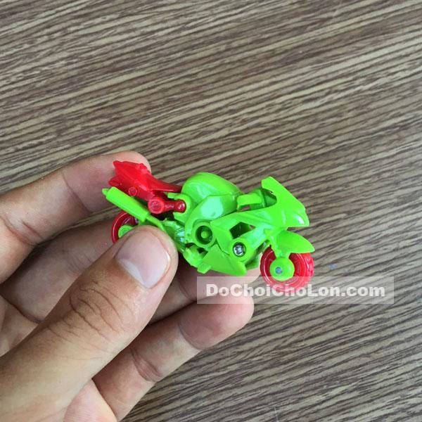 Đồ chơi lắp ráp xe & máy bay thành robot 10 con