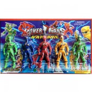 Vỉ đồ chơi 5 anh em siêu nhân Gaoranger nhỏ