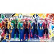 Vỉ đồ chơi 5 anh em siêu nhân hải tặc Gokaiger mini