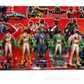 Vỉ đồ chơi 5 anh em siêu nhân Power Rangers SPD