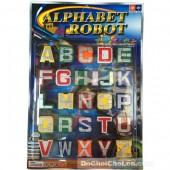 Vỉ đồ chơi lắp ráp bảng chữ cái tiếng Anh thành robot