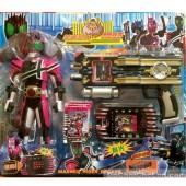 Vỉ đồ chơi súng điện thoại siêu nhân hủy diệt