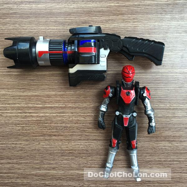 Vỉ đồ chơi súng siêu nhân chiến đội đặc mệnh