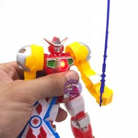 Đồ chơi siêu nhân Gundam size 17cm có đèn bằng nhựa