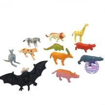 Bộ đồ chơi các loài thú rừng nhỏ bằng nhựa Thành Lộc
