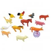 Bộ đồ chơi các loài thú nhà nhỏ bằng nhựa Thành Lộc