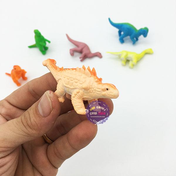 Bộ đồ chơi các loài khủng long tuyệt chủng nhỏ bằng nhựa Thành Lộc