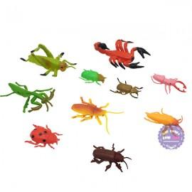 Bộ đồ chơi các loài côn trùng nhỏ bằng nhựa Thành Lộc
