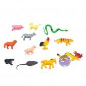 Bộ đồ chơi thú 12 con giáp nhỏ bằng nhựa Thành Lộc