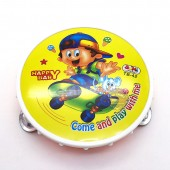 Đồ chơi trống lắc tay đại bằng nhựa size 22 cm cho bé