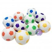Đồ chơi banh sơn nhiều màu 10 trái túi lưới bằng nhựa size 7cm