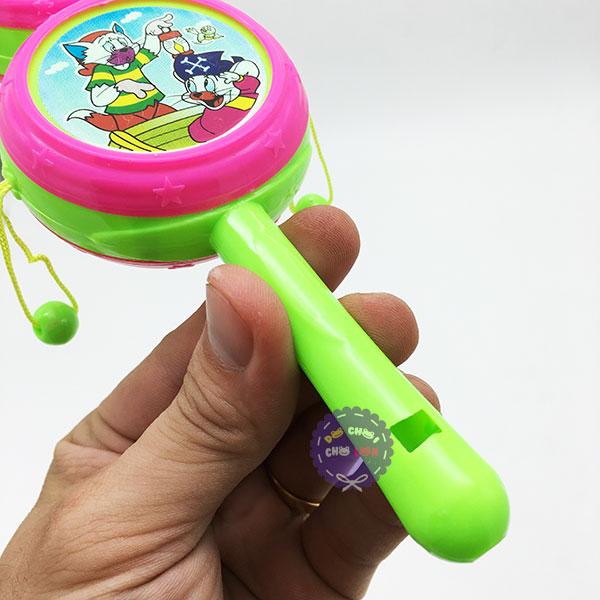 Đồ chơi trống lắc cầm tay hồ lô bằng nhựa