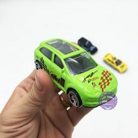 Hộp đồ chơi các loại xe hơi bằng sắt 6 chiếc Die-Cast
