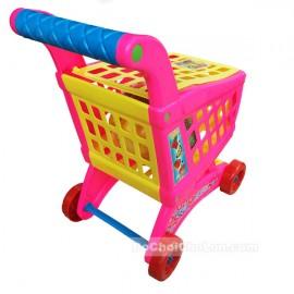 Bộ đồ chơi xe đẩy trái cây siêu thị loại trung