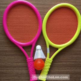 Đồ chơi vợt tennis, cầu lông túi lưới