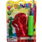 Vỉ đồ chơi bơm bong bóng Balloon Funny