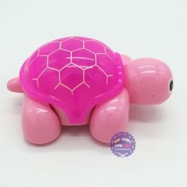 Hộp đồ chơi rùa con chạy pin có đèn nhạc