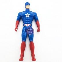 Đồ chơi mô hình Đội Trưởng Mỹ bằng nhựa có đèn 611