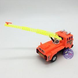 Đồ chơi xe thang cứu hỏa Minh Ký 4 bánh chạy trớn