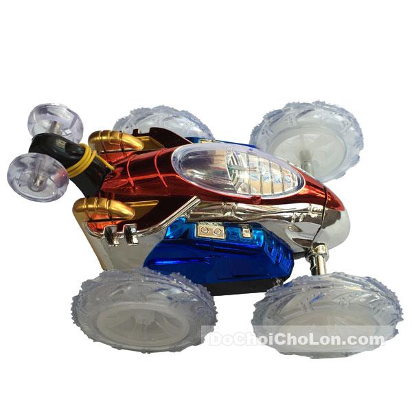 Hộp đồ chơi xe điều khiển nhào lộn bánh đèn Dasher