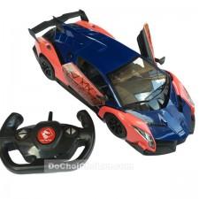 Hộp đồ chơi xe điều khiển từ xa Spider Man Lamborgini 2607