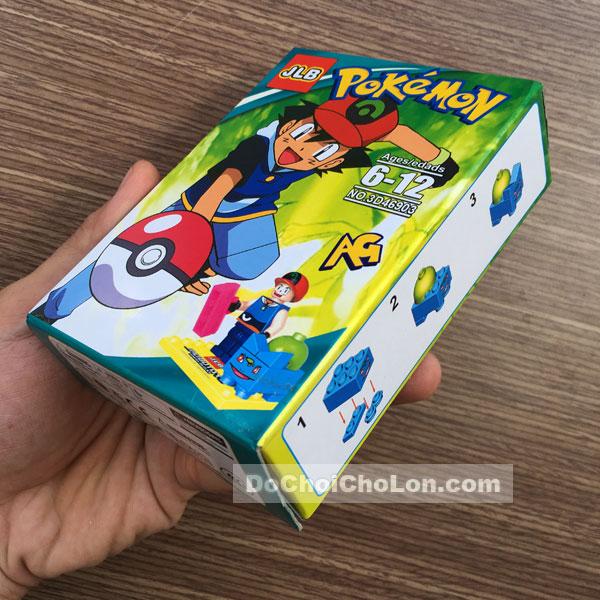 Bộ 6 hộp đồ chơi JLB lắp ráp Pokemon