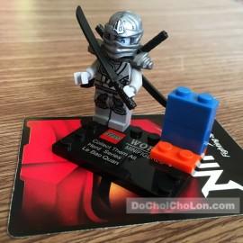 Bộ 8 hộp đồ chơi lắp ráp LEBQ chiến binh Ninja
