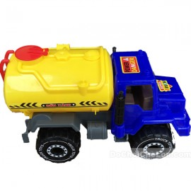 Đồ chơi xe bồn chở xăng dầu 4 bánh Supper Truck