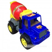 Đồ chơi xe bồn trộn bê tông 4 bánh Super Truck