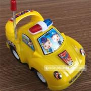 Đồ chơi xe ô tô cảnh sát mini chạy trớn