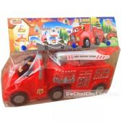 Đồ chơi xe chữa cháy Cholo Blóc nhựa chợ lớn