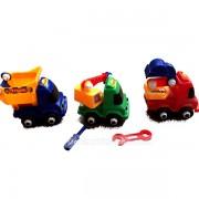 Bộ đồ chơi 3 xe công trình nhỏ